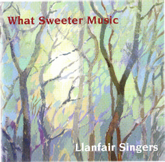What Sweeter Music, CD cover